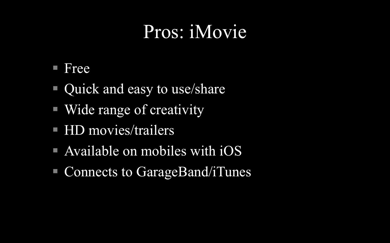 Windows Movie Maker vs  iMovie – techchester